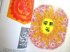 Resultado de imagem para drawing the sun bruno munari