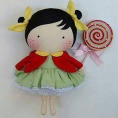 Doll Patterns Free, Doll Clothes Patterns, Raggy Dolls, Tilda Toy, Matryoshka Doll, Soft Dolls, Diy Doll, Cute Dolls, Free Sewing