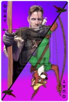 OUAT Card Robin Hood by jeorje90