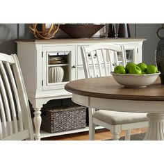 Cumberland Creek Dining Two Drawer Server by Liberty Furniture