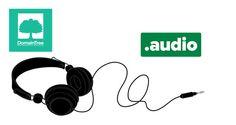 Create a website with great .AUDIO #dotaudio #audio #music #sound #gTLD #Domain #website #DomainTree #newrelease