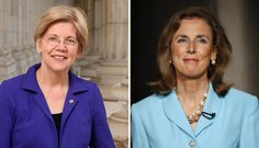 The Massachusetts senator and the Pa. hopeful asked the crowd to reject Pat…