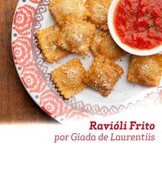Giada de Laurentiis usa o Queijo Parmesão e Azeite de Oliva para essa deliciosa receita.