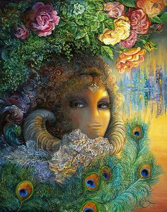 """The legendary Beauty & the Beast 1"" par Josephine Wall"