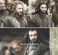 Kili Fili and Thorin