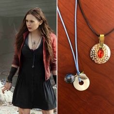 Check out our the avengers jewelry selection for the very best in unique or custom, handmade pieces from our pendants shops. Scarlet Witch Costume, Scarlet Witch Marvel, Cosplay Outfits, Cosplay Costumes, Couples Cosplay, Female Marvel Cosplay, Princess Jasmine Cosplay, Marvel Fashion, Wanda Marvel