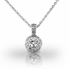 Platinum Beautiful Diamond Halo Pendant for Round Brilliant Diamond. 3/4 CTW Union Diamond. $2449.00. Premier quality craftsmanship backed by a lifetime manufacturer's warranty, every piece, every time.. Union Diamond is high quality, superb customer service, and is dedicated to making their patrons into lifetime customers, that's why we say, with Union Diamond, you should 'Just Expect More'!. We expect that you will be happy with your purchase, but in the event that you wo...