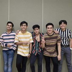 By His stripes Philippines Wallpaper, Music Covers, Fangirl, Stripes, Band, Couple Photos, Couples, Long Sleeve, Sleeves
