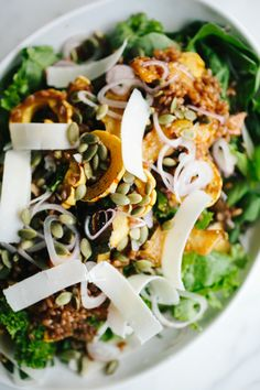 Roasted Squash and Bitter Greens Salad // Not Without Salt