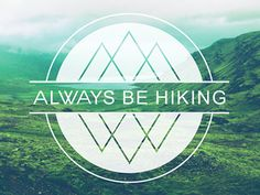 This is the logo design for the clothing company Always Be Hiking. The brand image intends to bring together the philosophy of the outdoors with the humanity of the big cities. A constant attempt t...