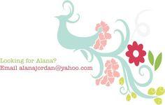 Alana Jordan alanajordan@yahoo.com