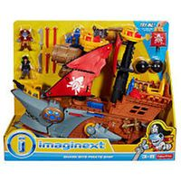 Video Review for Fisher-Price Imaginext Shark Bite Pirate Ship showcasing product features and benefits