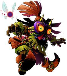 The Legend of Zelda: Majora's Mask 3D / Skull Kid and Tael