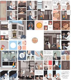 Franklin Christenson Chris Ware born December 28 1967 is an American cartoonist known for his Acme Novelty Library series begun 1994 and the graphic n Creative Illustration, Illustration Art, Chris Ware, Alternative Comics, Book Value, Painting Collage, Comic Panels, Illustrations, Comic Artist