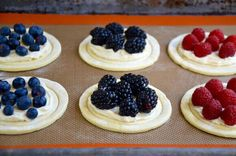 Fruit and Cream Cheese Breakfast Pastries Recipe