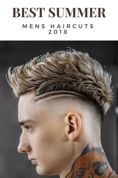 Smashing Summer Mens Hair Cuts 2018 Festival Hair ! Check out 33 more Awesome Mens Hairstyles