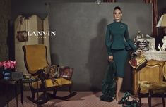Lanvin is FAB! and their newest genius is their campaign with an 82 yr old former Apollo dancer!! GORGEOUS!
