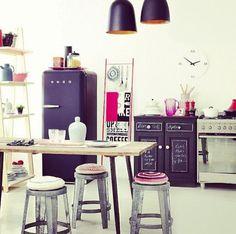 Hoy te damos ideas basadas en gustos hipsters, que puedes mezclar y aplicar para tener una cocina vintage con un toque bohemio, orgánico y alternativo.