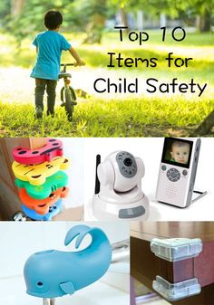 Child safety is so important! Here are 10 items that you might want to consider getting for your home.