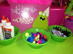 Build your own monster.