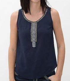 Daytrip Beaded Tank Top - Women's Shirts/Tops | Buckle