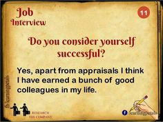 Interview Questions and Their Best Possible Answers