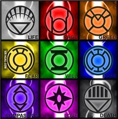 There Are different lanterns other than green