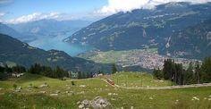 Cycling the hils in Interlaken, Switzerland. Photo via Flickr:thisisbossi