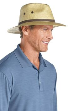 Not all womens golf hats offer style and UV protection in one. The women's fairway golf hat is a sensible choice for shading your face and neck. #golfhat