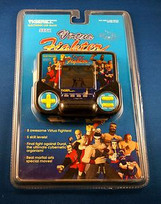Virtua Fighter electronic handheld LCD game by Tiger