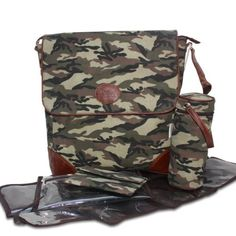 Yippydada Chic Diaper Bag for Dads Camo Adventure.