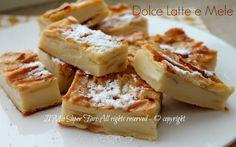 Dolce latte e mele | Torta di mele senza lievito il mio saper fare