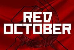 Red October is a constructivist free font inspired by Russian propaganda posters. It is quite popular especially in American movies. Russian Constructivism, Discover Magazine, Free Fonts Download, Font Free, Web Design, Graphic Design, Free Graphics, School Design, Card Games