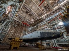 A Man Discovered An Abandoned Space Shuttle Hangar