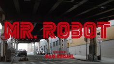 Mr Robot's gorgeous title cards