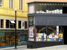 CITY LIGHTS BOOKSTORE, San Francisco, CA.  The famous bookstore where all the Beats hung out.  They published Howl by Ginsberg and were taken to court for it's obscenity.