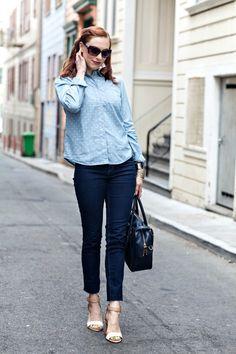 Blogger Fashion: Monochrome - Denim on denim | Moi Contre La VieMoi Contre La Vie