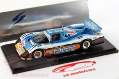 I found some of my favorites on my favorite stuff shop; Sauber C6 #95 24h LeMans 1985 Bassaler / Lacaud / Tapy 1:43 Spark
