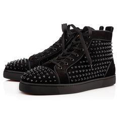Shoes - Louis Orlato Veau Velours/spikes - Christian Louboutin