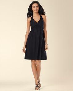 Soma Intimates Halter Short Dress Black #somaintimates My Soma Wish List Sweeps!