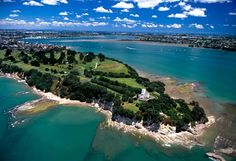 Howick Golf Course & Musick Point, Auckland, North Island, New Zealand - aerial
