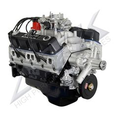 408ci stroker crate engine small block chrysler style dressed atk hp46c mag chrysler 408 magnum complete engine 465hp malvernweather Choice Image