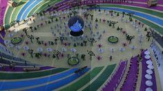 Cerimônia de abertura da Copa-2014 (© ESPN)