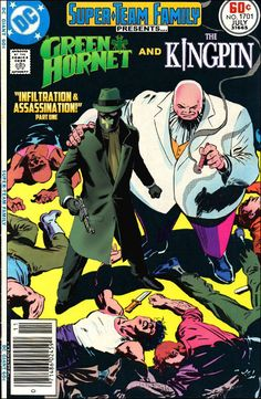 Super-Team Family: The Lost Issues!  Green Hornet and the Kingpin