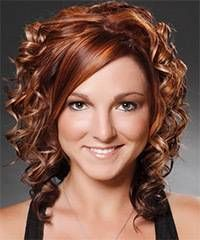 Formal Medium Curly hairstyle Formal Hair Style