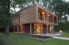 Bilder der PassivhausVilla - Südhausbau