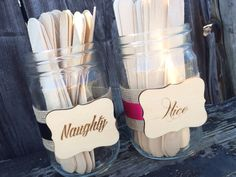 Bridal Shower Game Naughty or Nice Date Night by pishposhparty