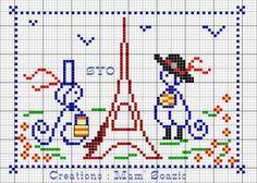 bretagne - breizh - les bretons à paris - bzh - point de croix - cross stitch - Blog : http://broderiemimie44.canalblog.com/