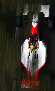 Ayrton Senna in his  F1 McLaren. This guy, has been an inspiration for going beyond your limits
