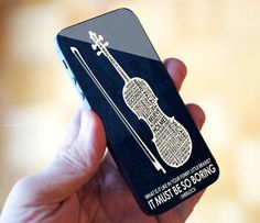 sherlock it must be so boring violin iPhone 4/4S case by FALVIAN14, $16.00